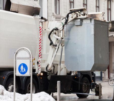 Unterflur-Abfallbeseitigung - Müllabfuhr